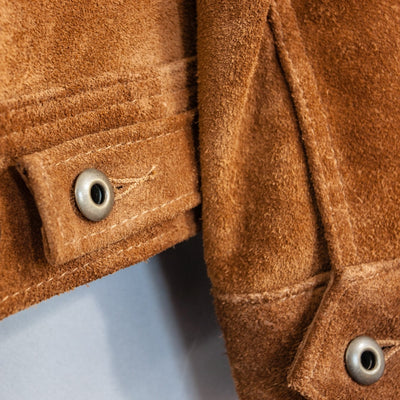 375 Rough Out Cowhide Suede Jacket