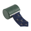 Alan Paine Ripon Silk Tie - Deer - M.W. Reynolds