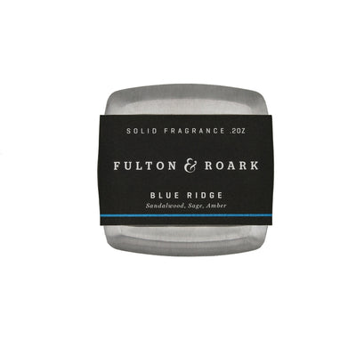 Fulton & Roark Blue Ridge - Solid Cologne - M.W. Reynolds