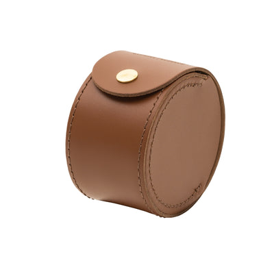 Hardy HBX Leather Reel Case - M.W. Reynolds