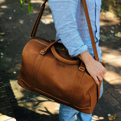 Orsyn Del Mar Oil Tanned Leather Duffle Bag - M.W. Reynolds