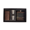 Tartan Hip Flask & Cups Gift Set