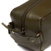 Barbour Compact Leather Washbag - M.W. Reynolds