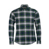 Barbour Highland Check 11 Shirt - Green - M.W. Reynolds
