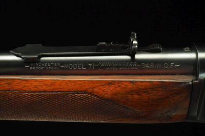 Winchester Model 71 Deluxe  .348 Win. - M.W. Reynolds