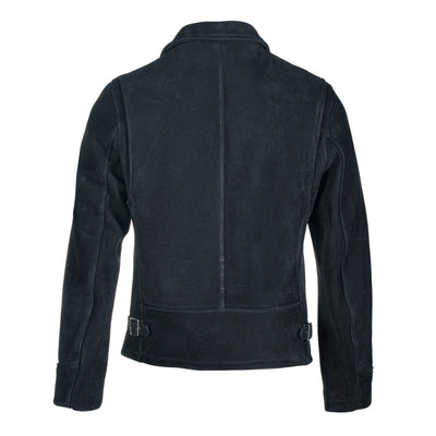 P673 Storm Heavyweight Oiled Nubuck Leather Jacket