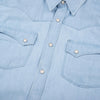 Freenote Calico Bleached Selvedge Denim Shirt - M.W. Reynolds