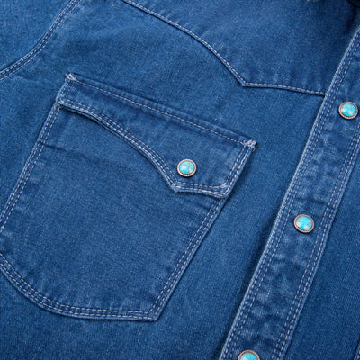 Calico Indigo Selvedge Denim Shirt