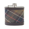 Barbour Tartan Hip Flask - M.W. Reynolds