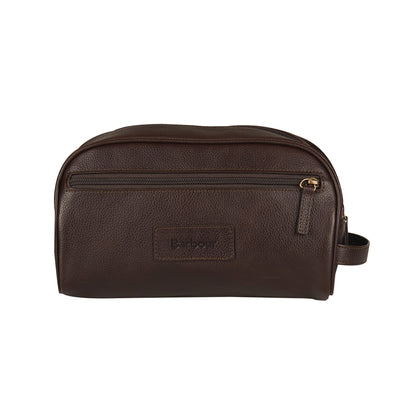 Barbour Leather Washbag - M.W. Reynolds