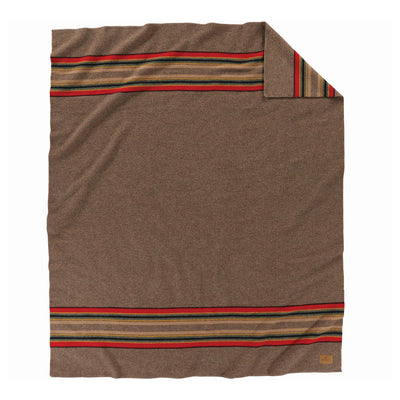 Yakima Camp Blanket With Leather Carrier