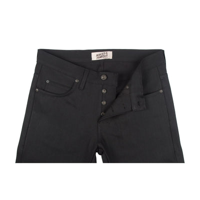 Naked & Famous Denim Solid Black Selvedge - Weird Guy - M.W. Reynolds