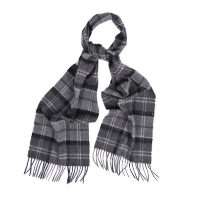 Barbour Merino and Cashmere Tartan Scarf - M.W. Reynolds