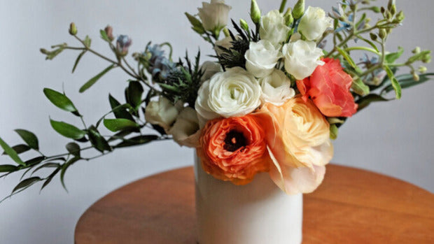 Flower Arrangement 101 & A Virtual Workshop