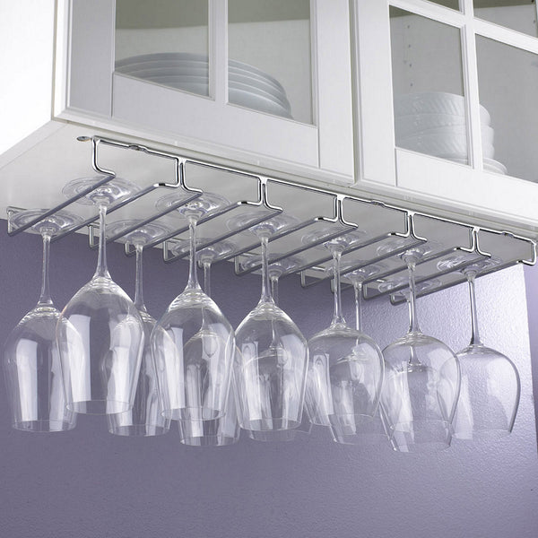 18 Stem Under Cabinet Stemware Rack