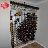 Black Tie Grid System Wine Rack