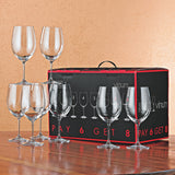 Riedel Vinum Cabernet Wine Glasses, Pay 6 Get 8