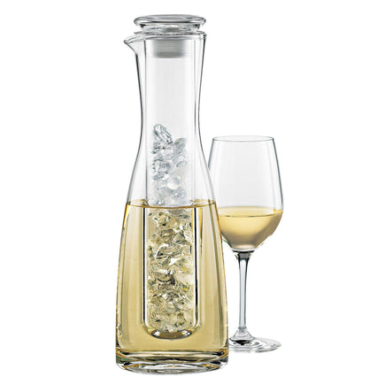 2 Piece Wine Chilling Carafe with Stopper