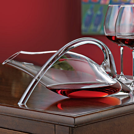 Break-resistant Fusion Duck Decanter