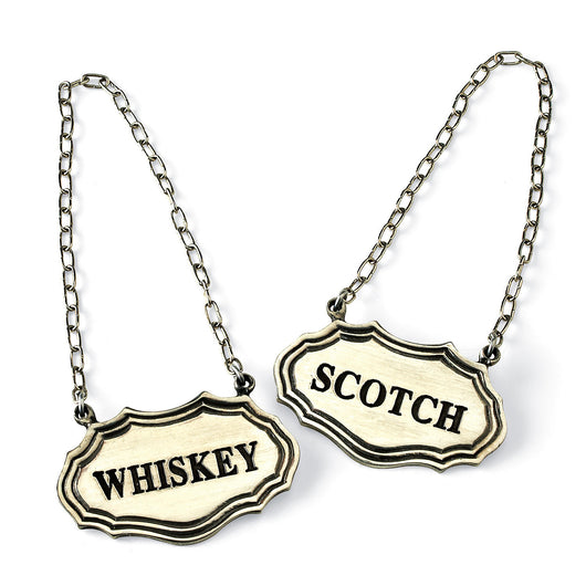 Whiskey and Scotch Decanter Tags Set of 2