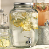 Mason Jar Beverage Dispenser