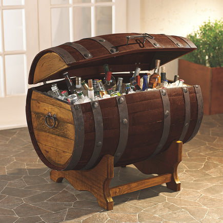 Tequila Barrel Ice Chest Chiller