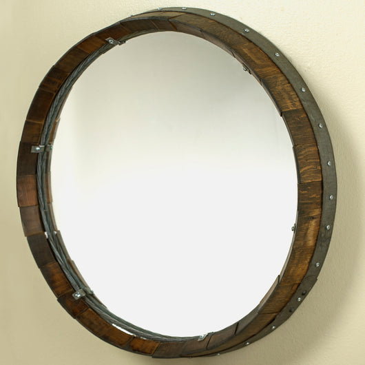 Barrel Head Mirror
