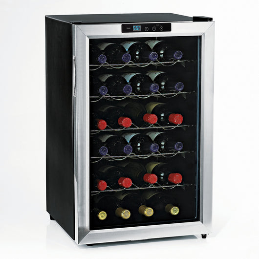 Silent 28 Bottle Touchscreen Wine Fridge
