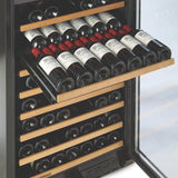 N'FINITY PRO LX 187 Bottle Dual Zone Wine Cellar in Stainless Steel