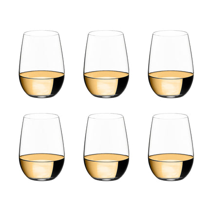Riedel O Riesling/Zinfandel Celebration Set of 6