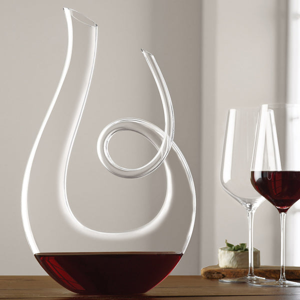 Wine Enthusiast Art Series Treble Decanter