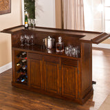 Classic Bar in Brown Cherry Finish