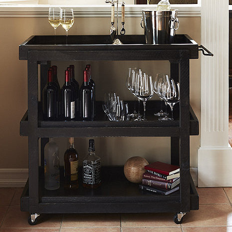 hutch wine bar registry thirstynest products industrial cart reclaimed at