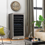 N'FINITY PRO2 M 94 Bottle Dual Zone Wine Cellar in Black