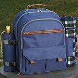 Wine Picnic Backpack Set for Four