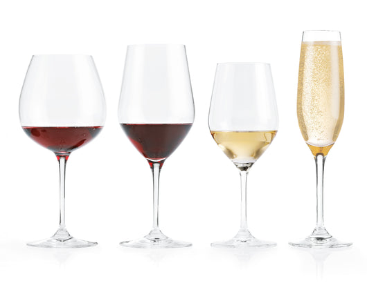 Complete Fusion Classic Wine Glass Collection, Set of 16