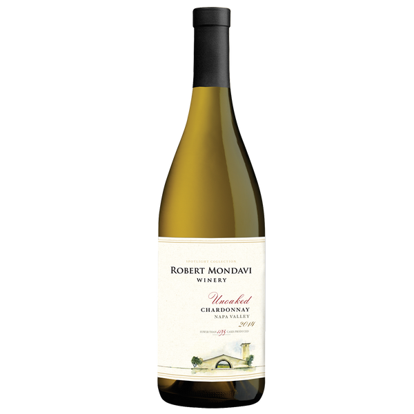 Robert Mondavi Winery Unoaked Chardonnay Napa Valley 2014