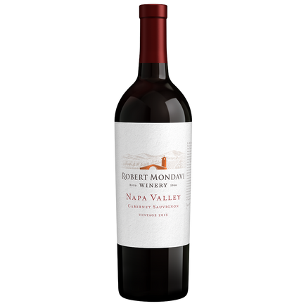 Robert Mondavi Winery Cabernet Sauvignon Napa Valley 2015