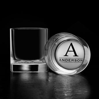 Personalized Amsterdam Whiskey Glasses (Set Of 2) - Anderson Design