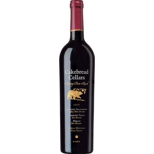 Cakebread 2017 Cabernet Sauvignon, Dancing Bear Ranch, Howell Mt., Napa Valley