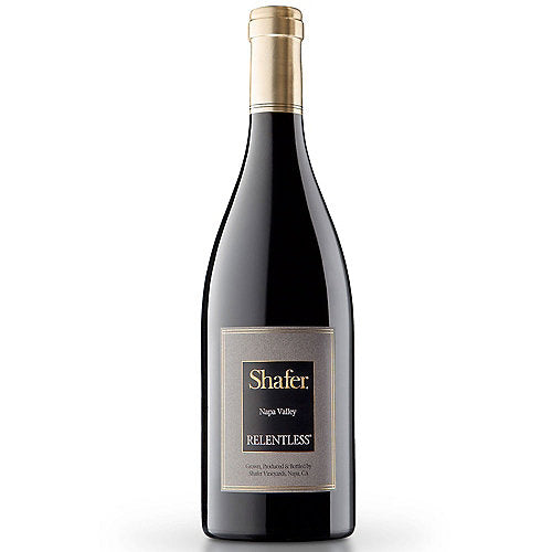 Shafer 2016 Relentless, Syrah, Napa Valley