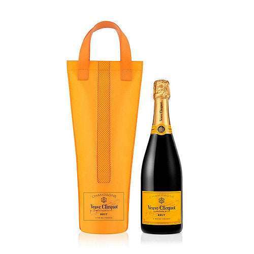 Veuve Clicquot Yellow Label Brut NV With Chiller Gift Bag