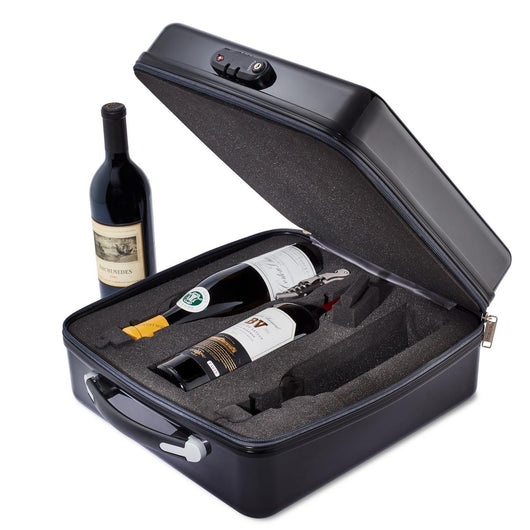 Vino Voyage 3-Bottle Travel Case