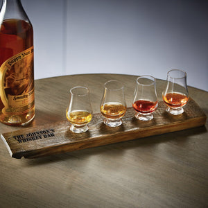Personalized Reclaimed Barrel Whiskey Flight Set