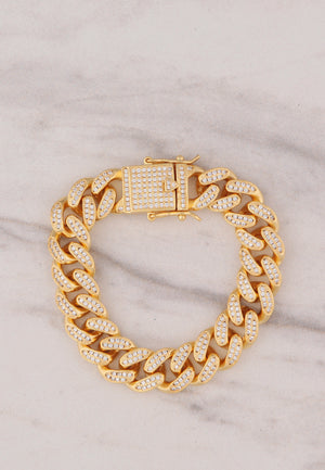 Cuban Bracelet - Gold