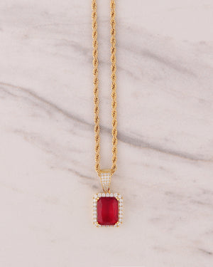 Red Ruby - Gold