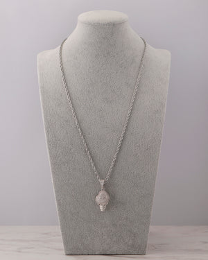 Icecream Necklace - Silver