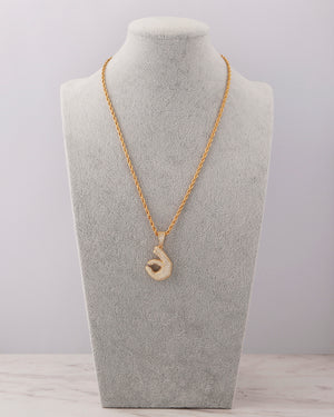 It's Ok Necklace - Gold
