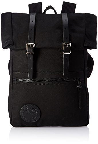 BazaarMPLS, Duluth Pack Roll-Top Scout Pack - Black, Duluth Pack, bags, Shop Minnesota Online, Shop Local MN