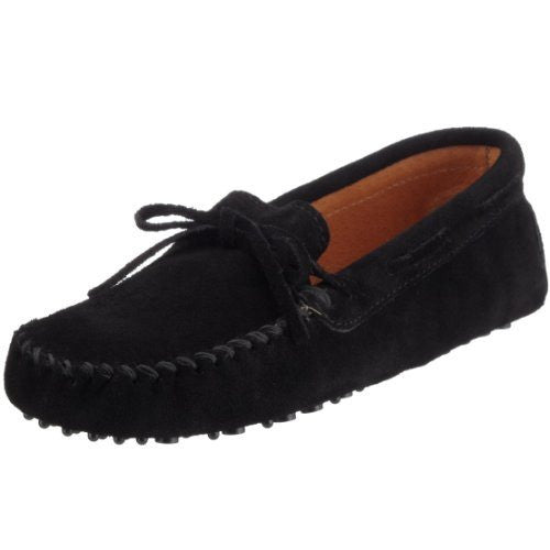 BazaarMPLS, Minnetonka Moccasin - Men's Driving Moc Moccasin - Black Suede, Minnetonka Moccasin, shoes, Shop Minnesota Online, Shop Local MN